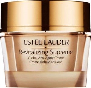 Estée Lauder mit ihrer Revitalizing Supreme Global Anti-Aging Creme