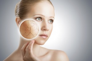 concept of cosmetic skin care.
